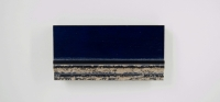 19GL Gevlokt zilver - blauw